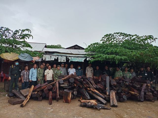 3 tonnes of luxury timber seized in raid