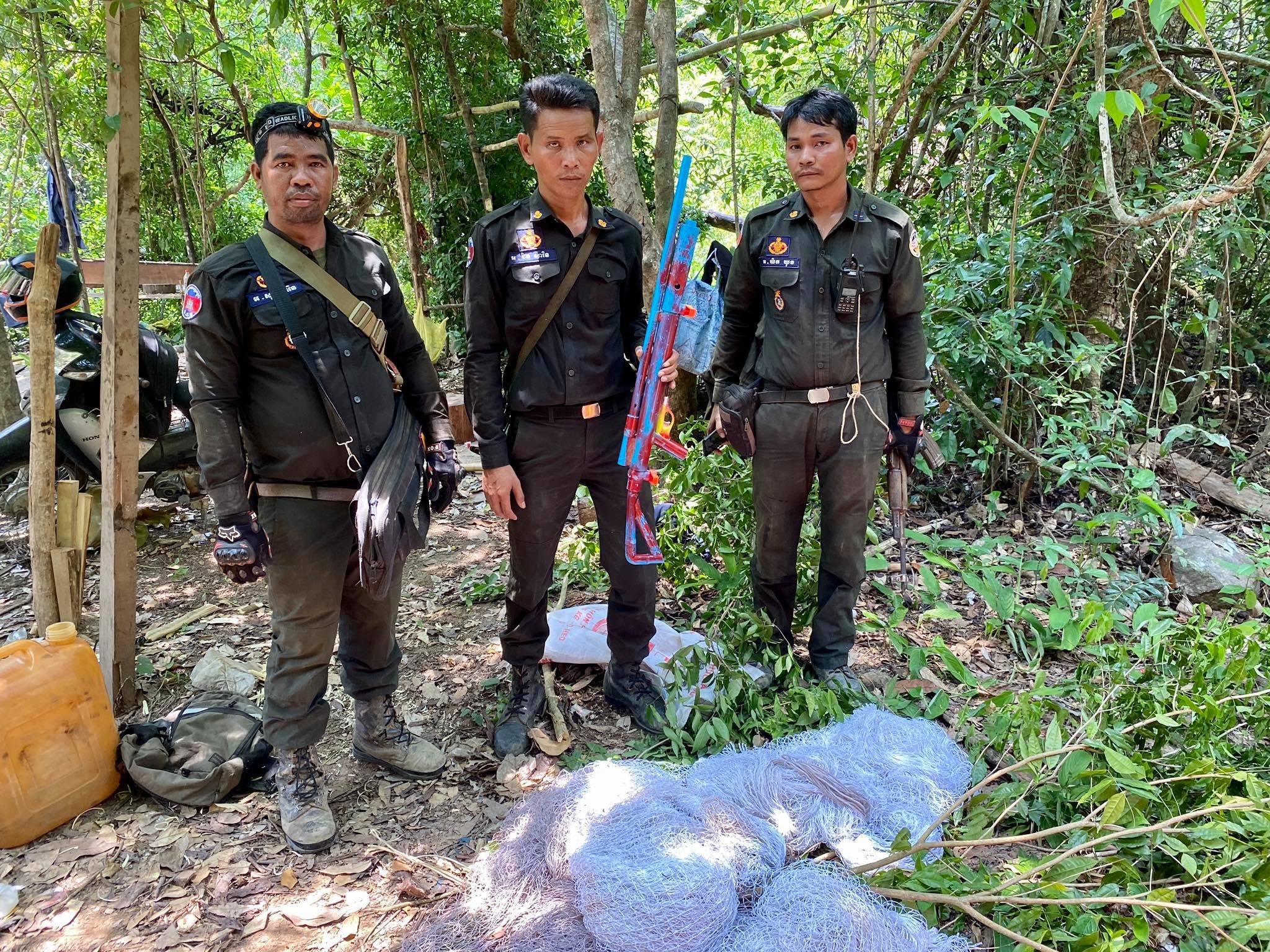 Poachers use new gun design