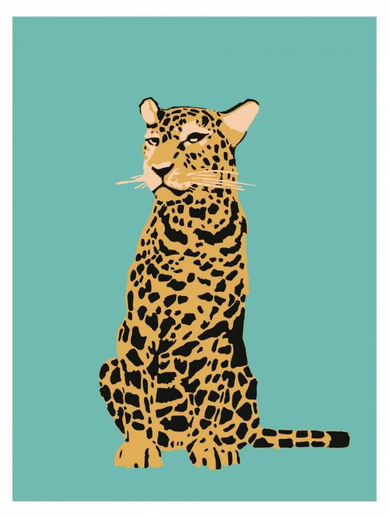 Leopard in popular culture-poster-print