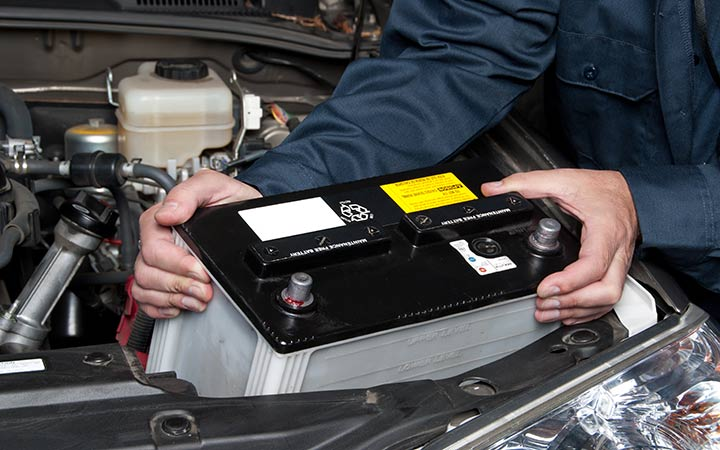 car battery service replacement in Manchester CT