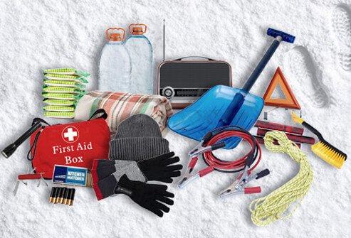 emergency road trip kit ideas