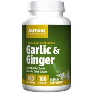 Jarrow Formulas Garlic Ginger - 700 mg - 100 Capsules