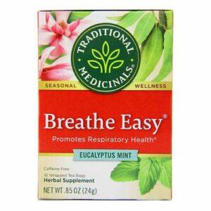 Traditional Medicinals Seasonal Tea Caffeine Free - Breathe Easy - 16 bags