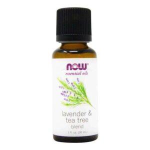 Now Foods 100% Pure Natural Essential Oil Lavender & Tea Tree - 1 fl oz (30 ml)