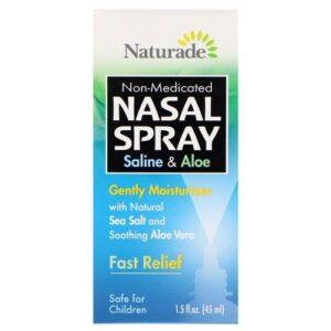Naturade Saline and Aloe Nasal Spray - 1.5 fl oz