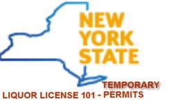 Temporary liquor license permit New York State pros cons