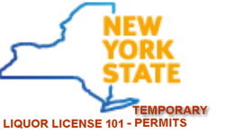 Temporary liquor license permit New York State pros cons
