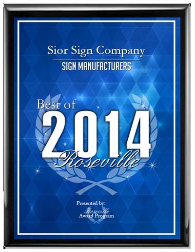 Sior Sign Company, Auburn California Sign Company, Sign Design, Manufacture, Installation. Roseville, Sacramento, Folsom, Granite Bay