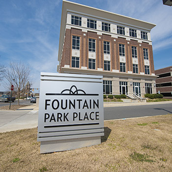 Fountain Park Place Rock Hill Steele's Mechanical HVAC contractor mechanical contractor Charlotte Lancaster Design Build Heating Air Conditioning Ventilation industrial historical public government education retail healthcare veteran owned