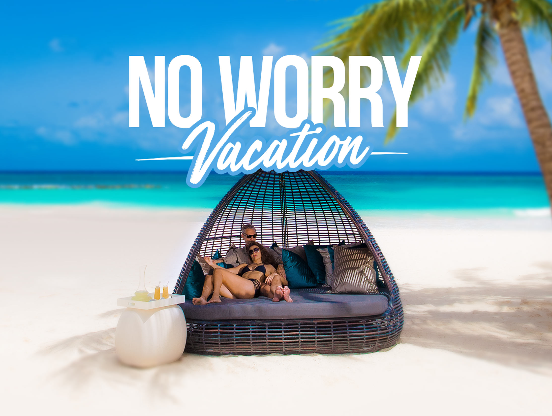 no-worry-vacation-background