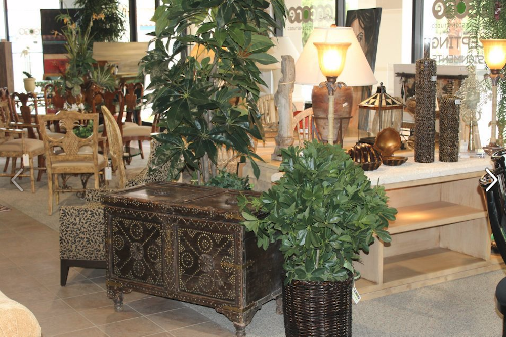 Beautiful Luxury Furniture in a Consignment Store