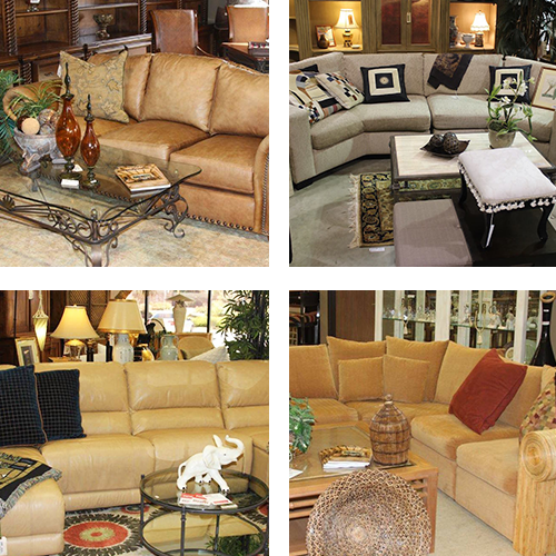 Collage of Living Room Furniture