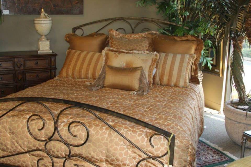 Eclectic Patterned Bedding