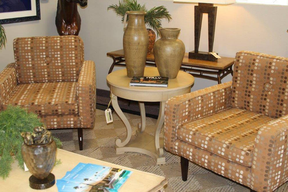 Furniture on Display in a High Quality Consignment Store