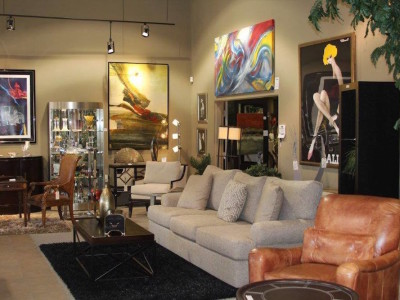 Luxury Furniture and Elegant Artwork - 5
