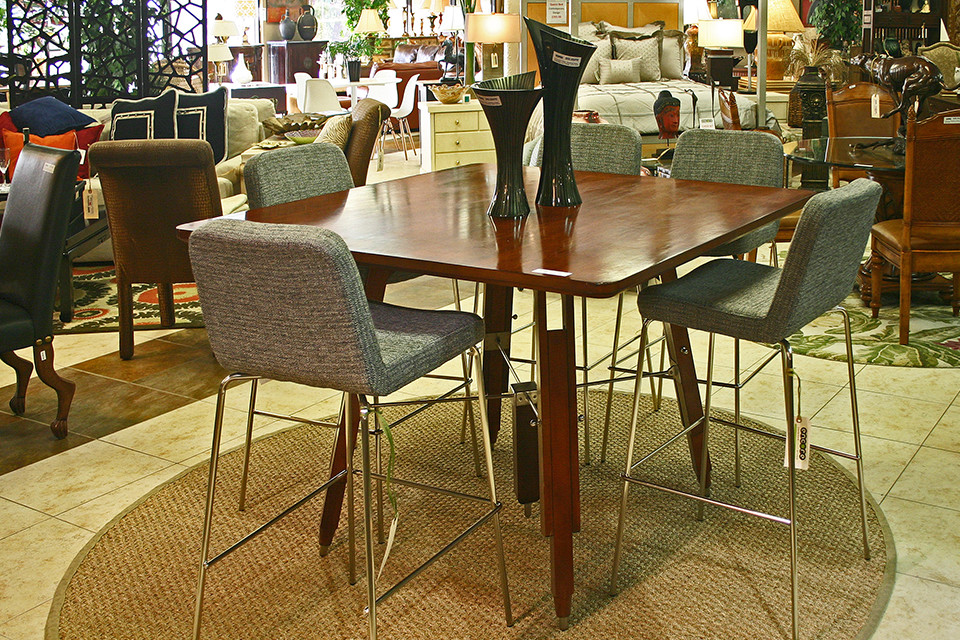 Tall Bar Stools with Metal Frames