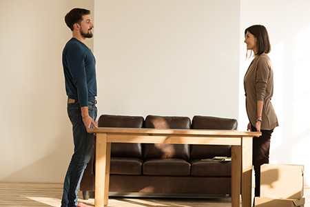Couple Buys Couch From Furniture Store