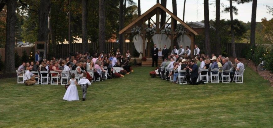 Wedding October Outdoors