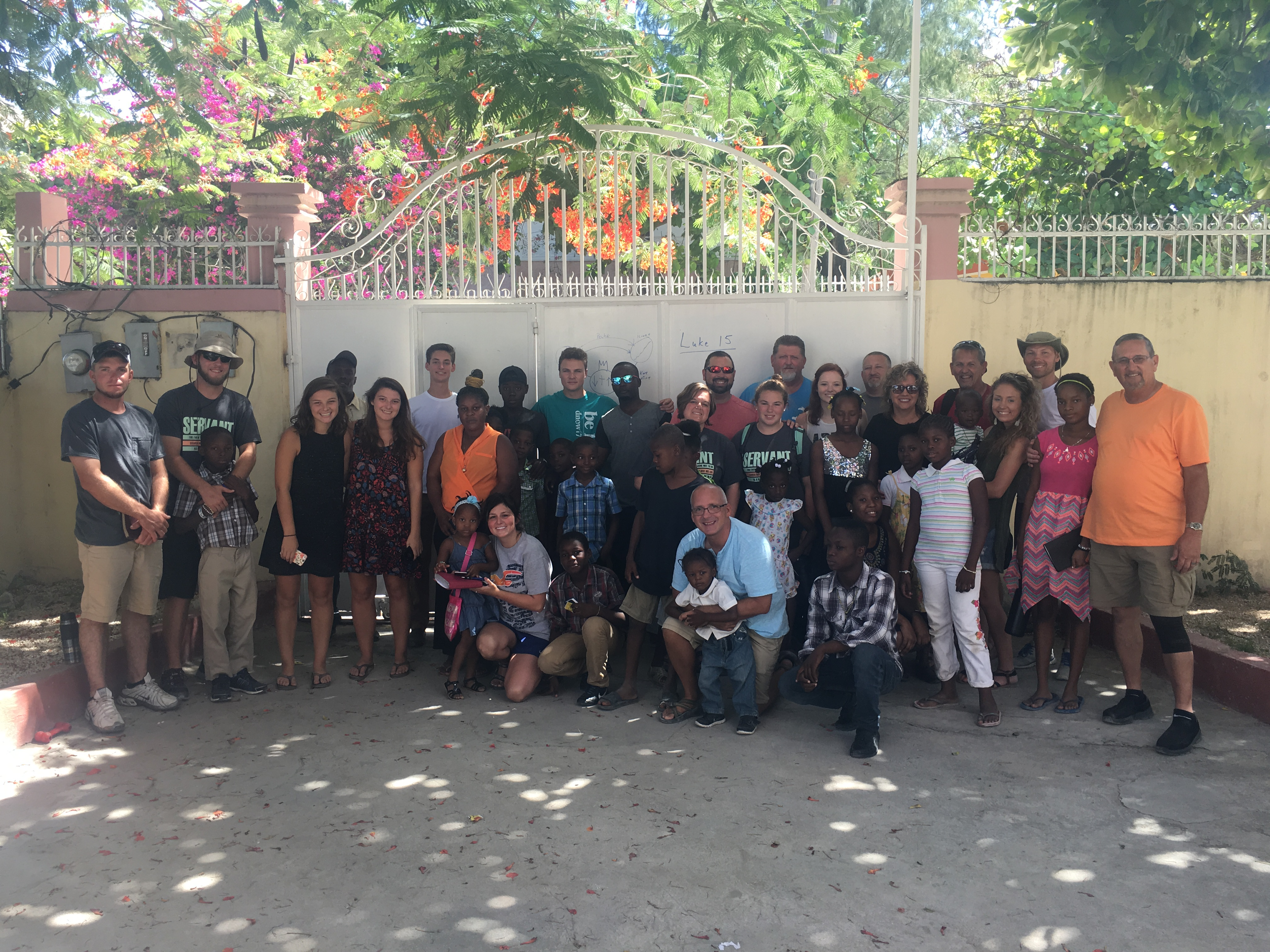 Summer 2017 Hands of Hope Missionary Team and Local Haiti Missionaries