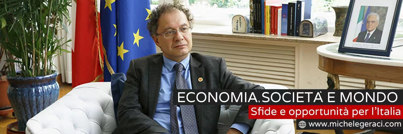 Michele Geraci -Economia, Società e Mondo