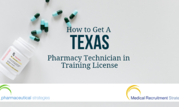 Texas Pharmacy Technician in Training License