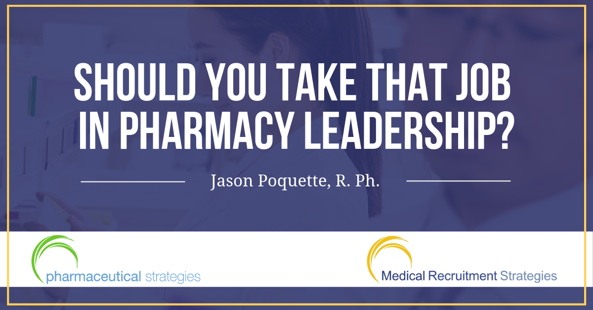 pharmacy leadership jason