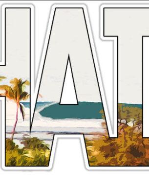 Lahaina-Sticker