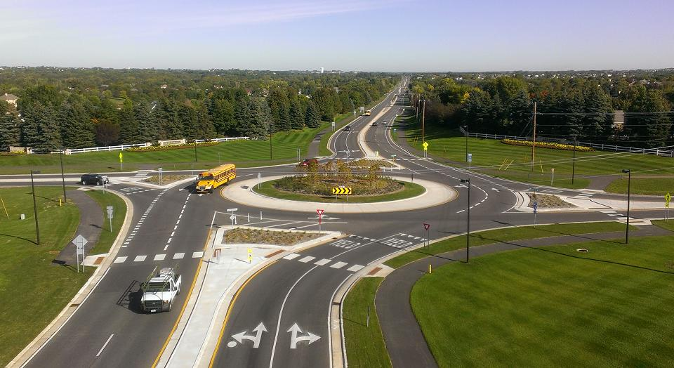 TMS Engineers Roundabout