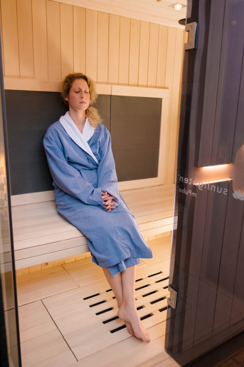 Infrared Sauna - Unwind at Westclox