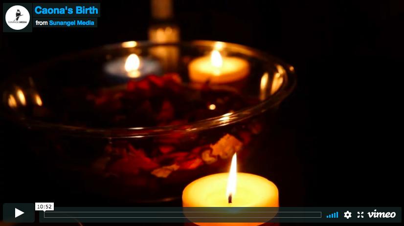 Caona's Birth Video