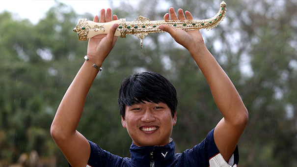Wang wins Golfer of the Month for March