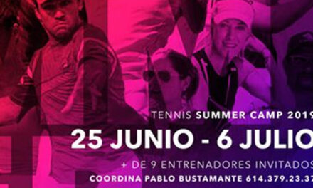TENNIS SUMER CAMP 2019