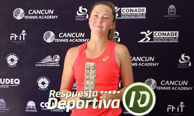 CANCUN TENNIS DRAWS-2- QUINTANA ROO:  ALEXA NOEL MONARCA