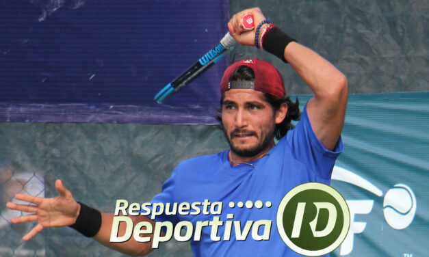 CANCUN TENNIS DRAWS-2-QUINTANA ROO:  HANK LISTO PARA LA BATALLA