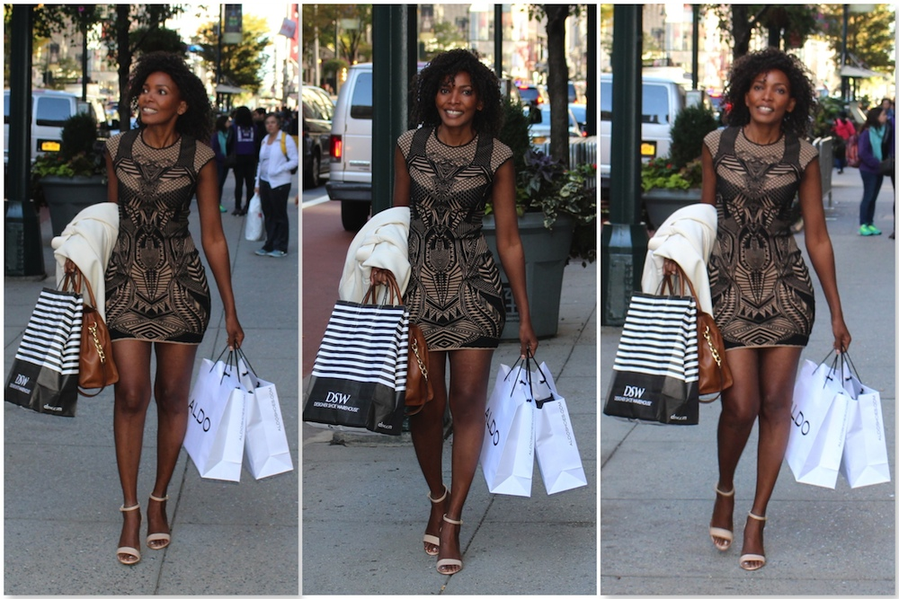 Girl about town #NYCShopping