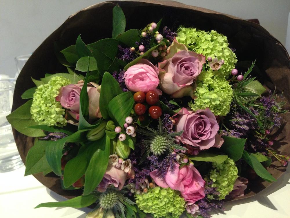Get well soon flowers - Grazie Alessandra ?
