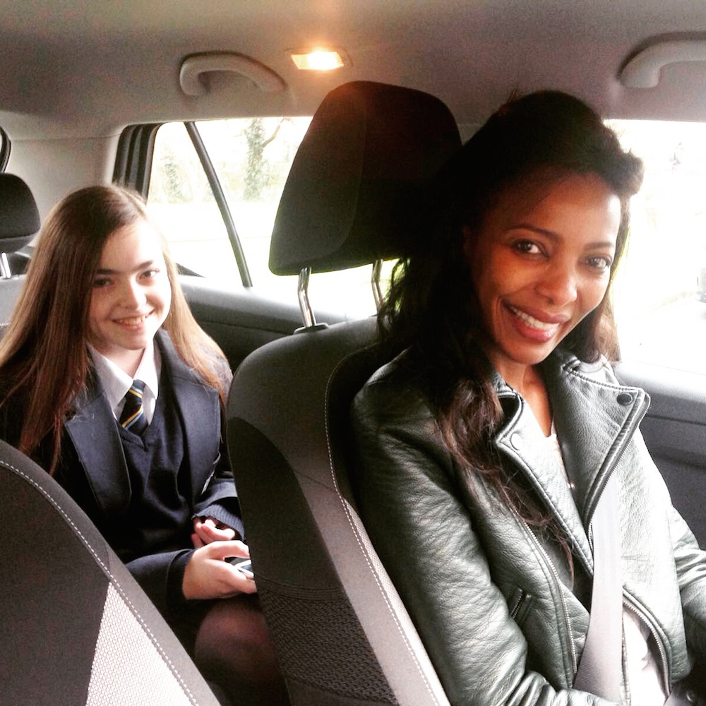 Driving Miss Jessica :-)