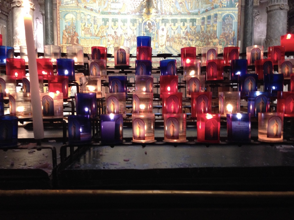 In Lyon, lighting a candle for those we love