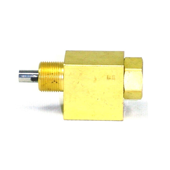 VALVE, 3-WAY, NEEDLE, NORMALLY CLOSED, 1_8″ NPT PORTS