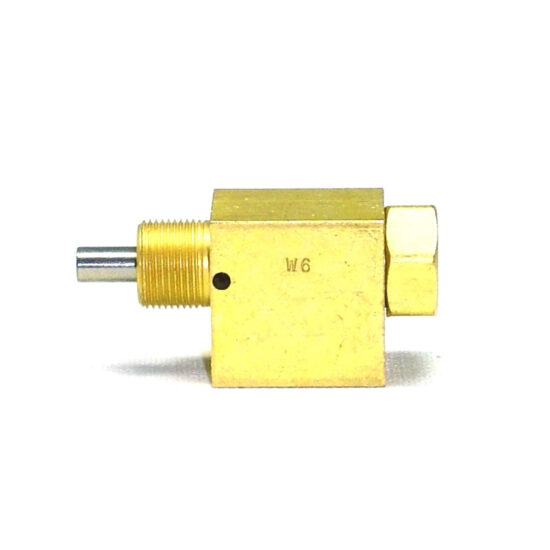 VALVE, 3-WAY, NEEDLE, NORMALLY OPEN, 1_8 NPT PORTS