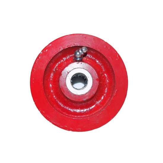 GROOVED WHEEL FOR 4000 LOADER, USA, GREEN