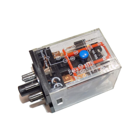 RELAY, 8-PIN, 240v, (CLEAR)