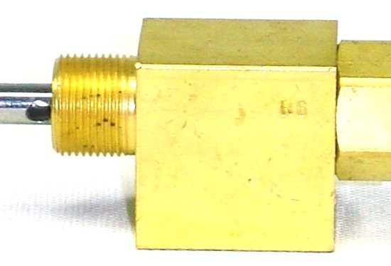 VALVE, 3-WAY, NEEDLE, NORMALLY CLOSED, 1/8″ NPT PORTS 1