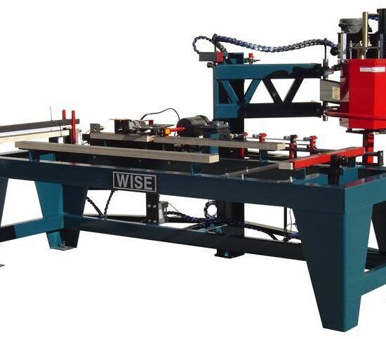 WISE 7000 Door Lite Cut-Out Machine 1