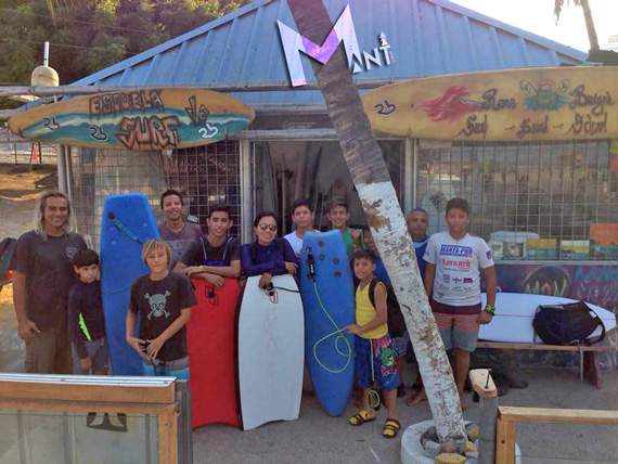 "Escuela Municipal de surf ""RENE BURGOS"""