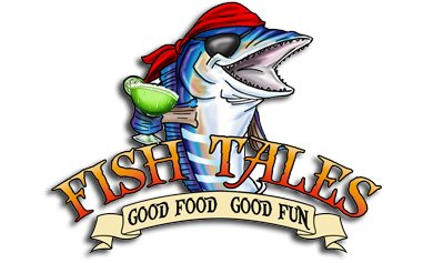 fish tales richmond hill georgia logo seafood restaurant
