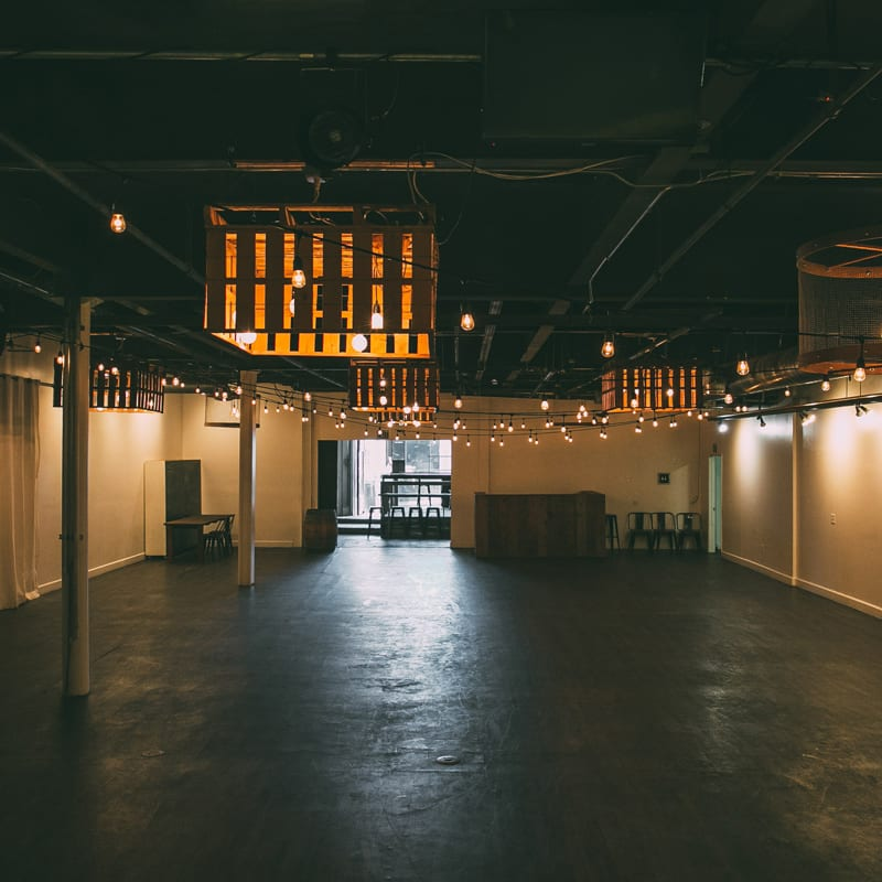 Warehouse event venue