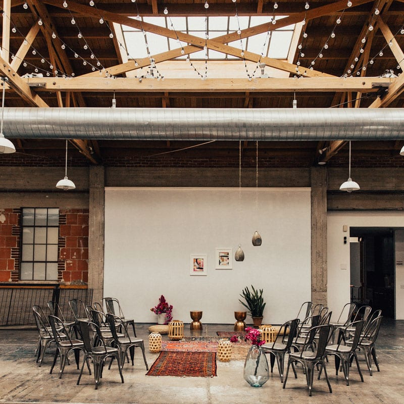 open warehouse event venue