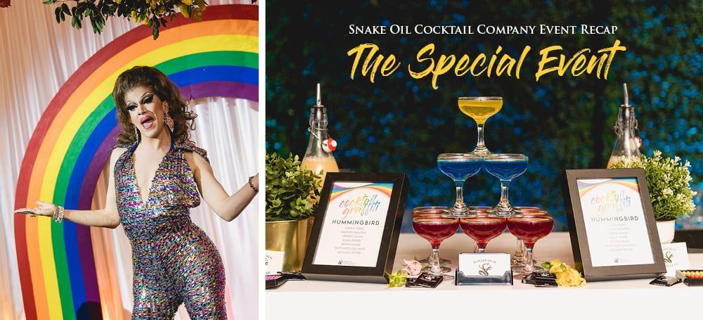 snake oil celebrates pride - the special event 2019 | snake oil cocktail co