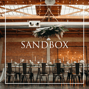 cater weddings and events at sandbox | snake oil cocktail co.